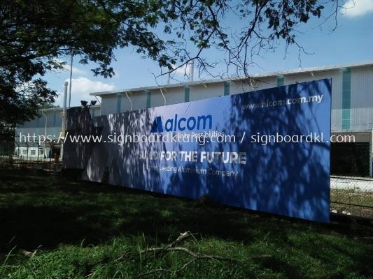 alcom hoarding road side signage signbaord at klang kuala lumpur