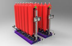 Accumulator Skid �C Customize base on space and system volume