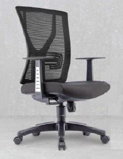 YY Presidential medium back mesh chair AIM1MB-YY (Side view)