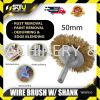 Knight WBWS50 Wire Brush With Shank 50MM General Series Workshop Equipment