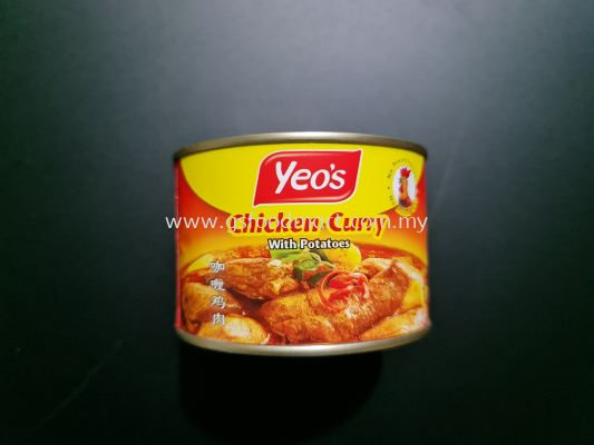 Yeo's Curry Chicken with Potatoes 405g Yeo's咖哩鸡肉 405g