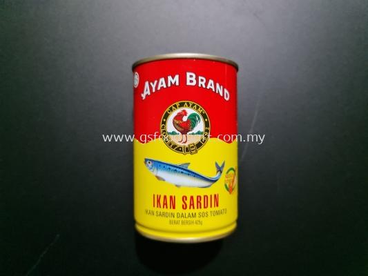 Ayam Brand Sardines 425g Ayam Brand沙丁鱼 425g