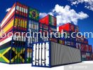 CONTAINER STICKER CONTAINER STICKER VEHICLE GRAPHIC