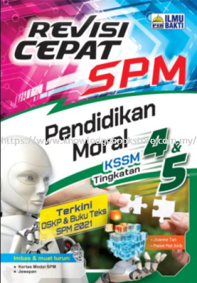 REVISI CEPAT SPM PENDIDIKAN MORAL