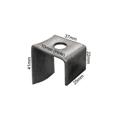 Ladder Bracket With Top Hole - M10 Hole