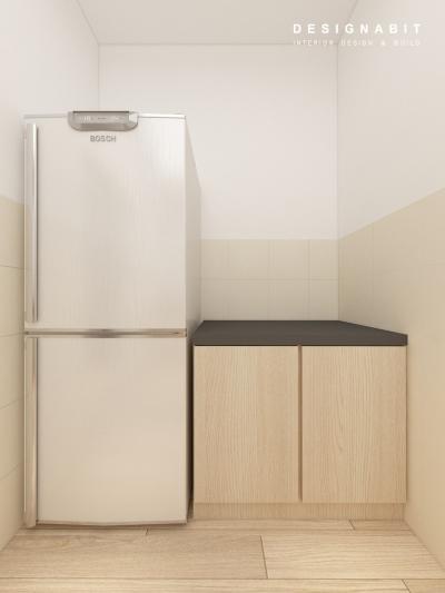 Kitchen Cabinet 3D Design From Perak Contractor
