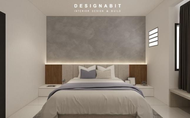 Bedroom 3D Design Drawing Refer From Perak Contractor 2021