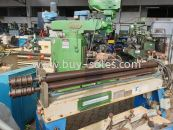 ELECTRIC PLATE ROLLING MACHINE