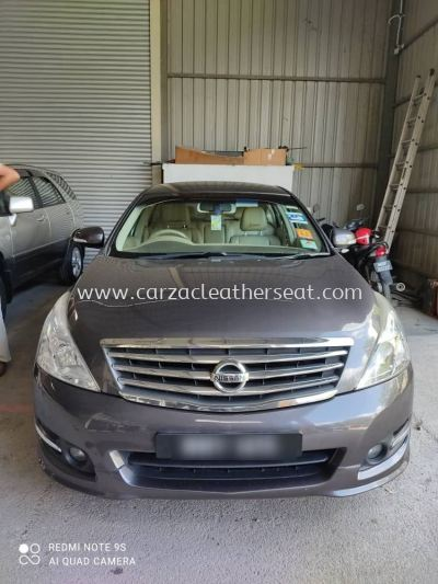 NISSAN TEANA DASHBOARD COVER REPLACE