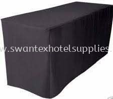 Banquet table Table cloth without skirting