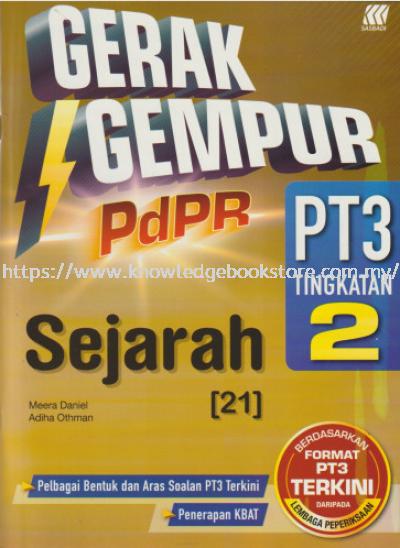 GERAK GEMPUR PDPR PT3 SEJARAH TINGKATAN 2