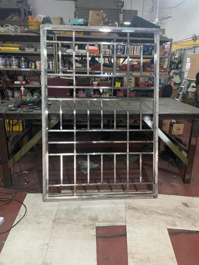 Stainless Steel Grille Window