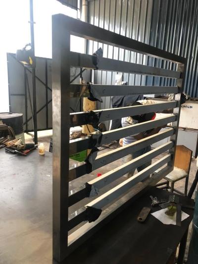 OEM Sheet Metal Works Art panel-  Door Stainless Steel