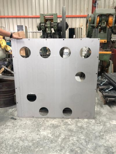 OEM Sheet Metal Works - Stainless steel plate for manufacturing Machine