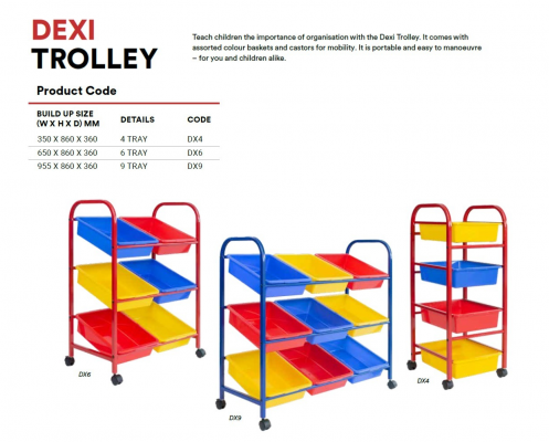 DX4 Dexi Trolley