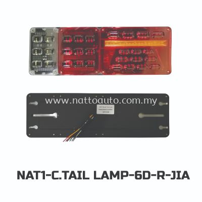 COMBINATION TAIL LAMP(24V)LEFT-M-SP