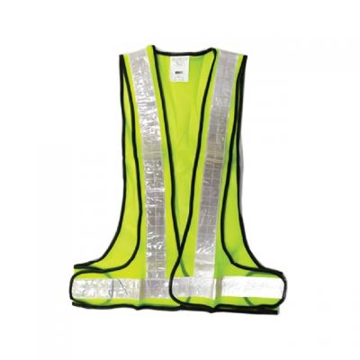 MK-SSC-20042-GRN SIMPLIFIED SAFETY VEST/ FLUORESCENT CLOTH