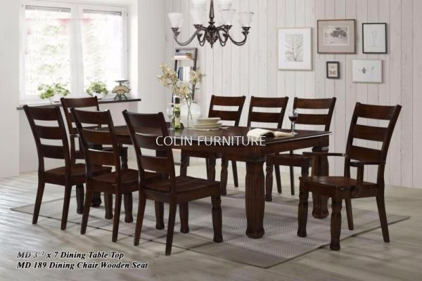 MD31`2 X 7 MD189 1Table+8Chairs