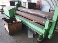 USED PLATE ROLLING MACHINE 12MM x 5feets for sales