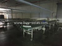 Used Belt Conveyor System or production conveyor line for sales