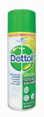 Dettol Disinfectant Morning Dew 滴露杀菌喷雾 晨露味