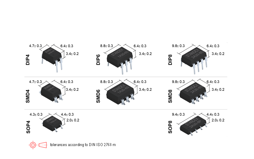Standex SMP-2A30-8ST Photo-MOSFET Relay