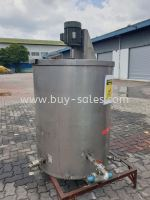 1000 liter stainless Steel tank with Mixer for sale
