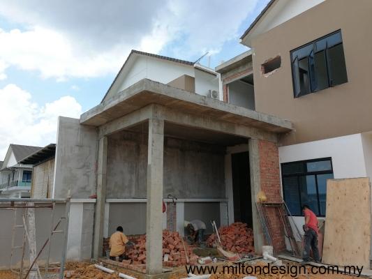 Interior Renovation Extension House Body Refer Johor Kulai