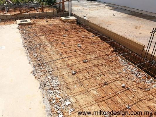 Johor Bahru House Extension Works Runing Refer - PELANGI INDAH