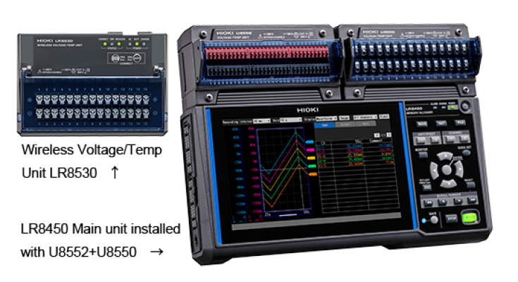 HIOKI LR8450-01 (Wireless LAN model) Memory HiLogger