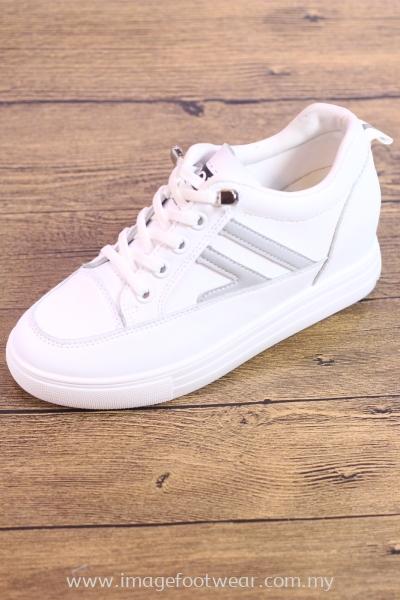 Trendy & Sportive Lady Shoe -TF-618-WHITE Colour