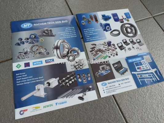 A4 Size Product Flyer