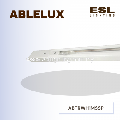 ABLELUX TRACK SQUARE WHITE 1 METER