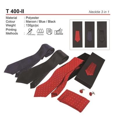 T 400-II Necktie 3 in 1