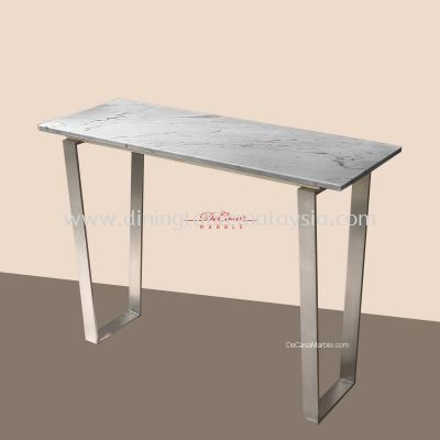 Sivec White | Marble Console Table | Cash & Carry | RM1,299