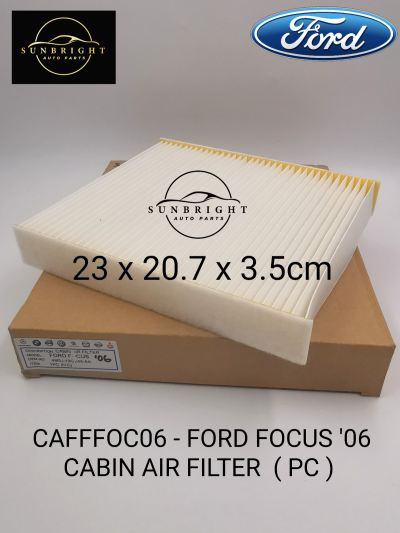 CAFFFOC06 - FORD FOCUS '06 CABIN AIR FILTER  ( PC )