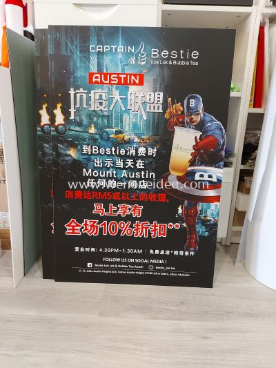 A2 Size Promotion Poster