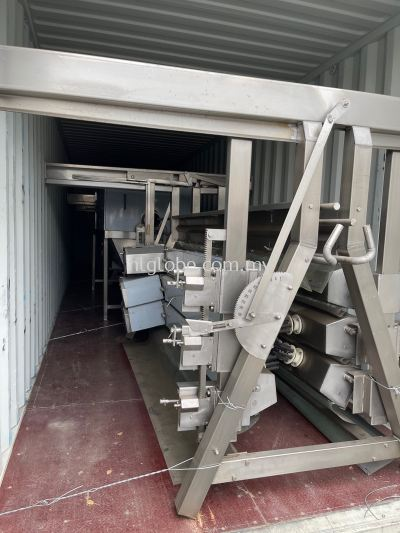 3 container slaughter machine on site