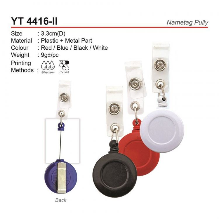 YT 4416-II Nametag Pully