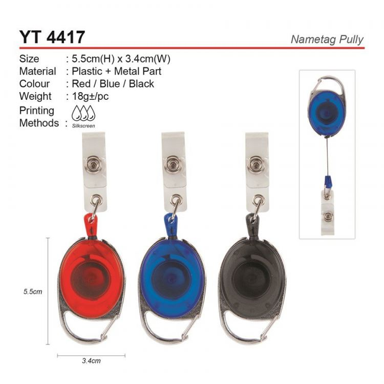 YT 4417 Nametag Pully