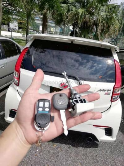 myvi car key all lost