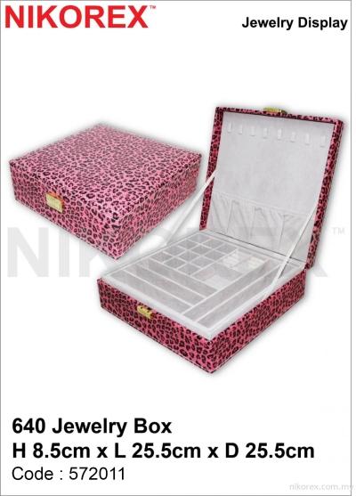 572011 - JEWELRY ORGANIZER 640 (8.5Hx25.5Lx25.5Dcm)