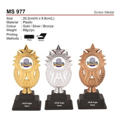 MS 977 Screw Medal