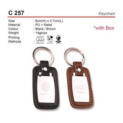 C 257 Keychain