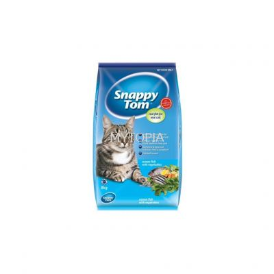 SNAPPY TOM OCEAN FISH WITH VEGETABLES 8KG
