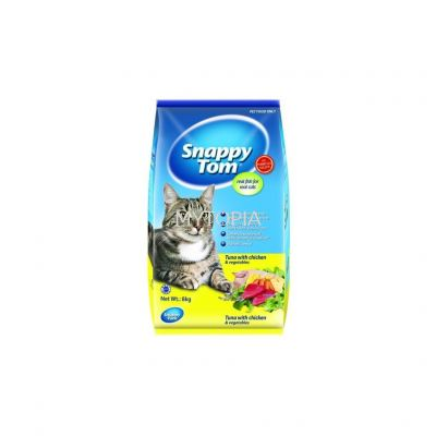 SNAPPY TOM TUNA WITH CHICKEN & VEGETABLES 8KG