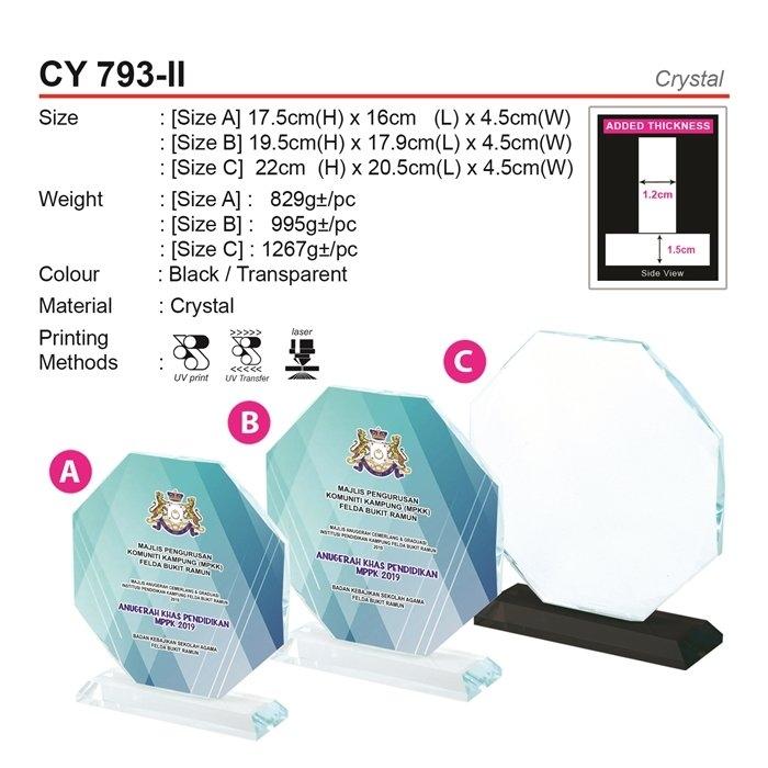 CY 793-II Crystal