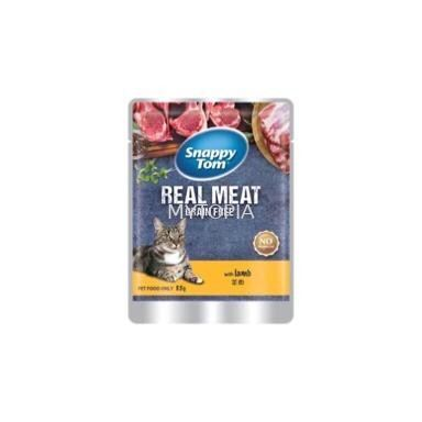 SNAPPY TOM POUCH LAMB 85G