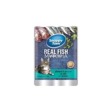 SNAPPY TOM POUCH PILCHARD  SNAPPER IN JELLY 85G
