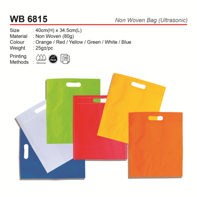 WB 6815 Non Woven Bag (Ultrasonic)
